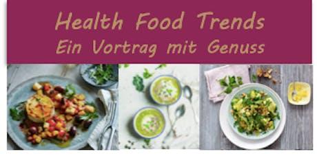 Health Food Trends – Ein Vortrag mit Genuss Tickets