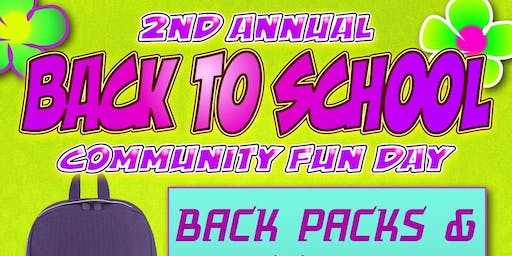 LEON SCHOOLS BACK TO SCHOOL BACKPACK GIVEAWAY COMMUNITY FUN DAY!!!