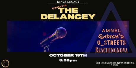 KINGS LEGACY: The Return to Delancey  tickets
