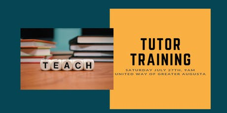 Tutor Training for Adult Literacy tickets