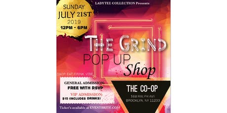 THE GRIND: Pop-Up Shop tickets