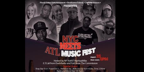 NYC MEETS ATL MUSIC FEST tickets