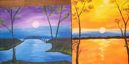 Beat the heat- choose your painting paint nite