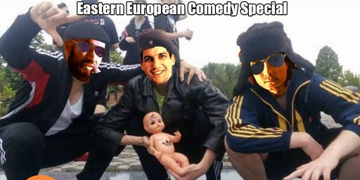 Laughing Bearlin English Comedy Showcase - Eastern Europe special IV