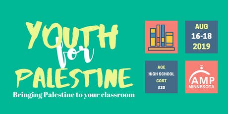 Youth for Palestine: Bringing Palestine to your Classroom tickets