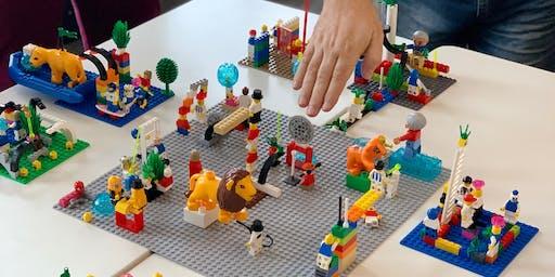 Workshop para Facilitadores| Trainers, Profissionais de RH, Psicólogos, Coaches e Professores | Como utilizar o Método Lego® Serious Play® no desenvolvimento de pessoas