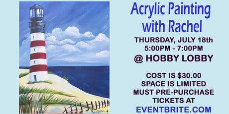 Acrylic Painting Class tickets