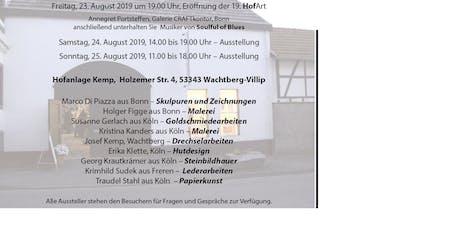 19. HofArt - Ausstellung von Kunst und Handwerk Tickets