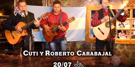 Día del Amigo con Cuti y Roberto Carabajal entradas