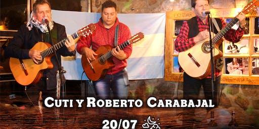 Día del Amigo con Cuti y Roberto Carabajal