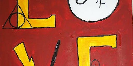 Quincy's paint nite