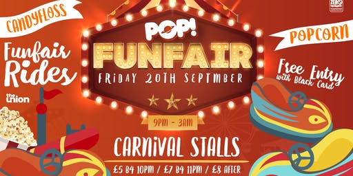 2019/20 POP! Funfair (Friday 20 September 2019)