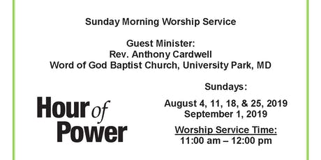 "Hour of Power ""Spiritual Renewal"" tickets"
