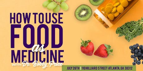 How To Use Food As Medicine tickets