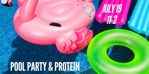 Protein Pool Party