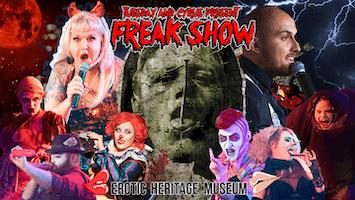 """Freak Show"" at Erotic Heritage Museum"