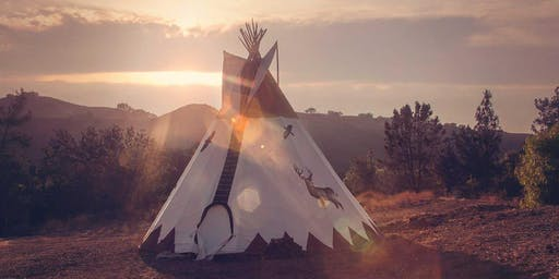 COSMIC WEDNESDAY :: COMING HOME BREATHWORK MEDITATION + SOUND HEALING IN A TIPI