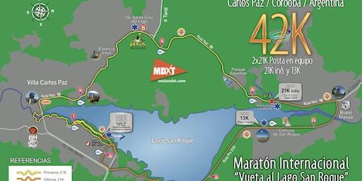 Traslados Maratón Internacional Vuelta al Lago San Roque.