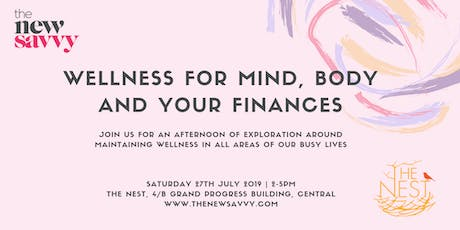 Wellness for Mind, Body and your Finances tickets