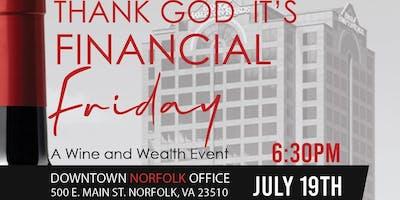 Thank God It's Finance Friday TGIFF