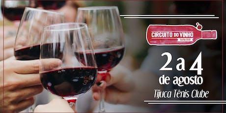 Circuito do Vinho - Tijuca ingressos