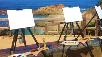 Painterly Events in Laguna Beach