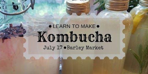 Homebrewing Kombucha