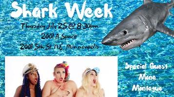 """Naked Girls Reading presents Shark Week!"""