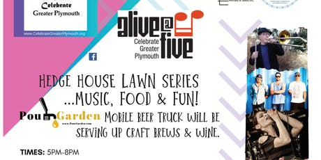 Alive@Five Concert - Plymouth - VIP Ticket tickets