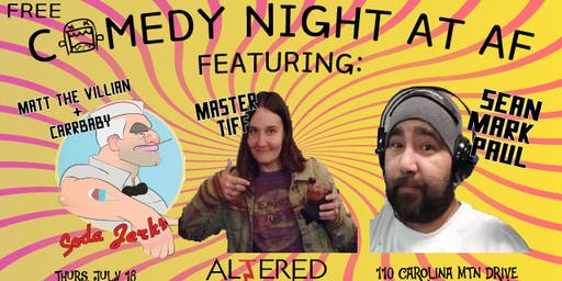 Free Comedy Night at AF
