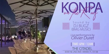 Konpa on the Roof tickets