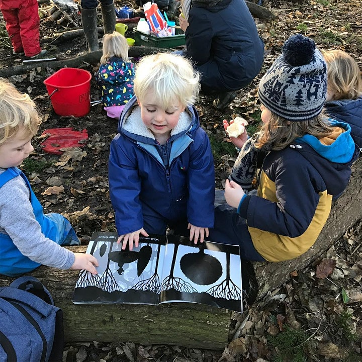 Babes in the Woods Forest School 2-5 yrs extra session Thursday 17th Oct image
