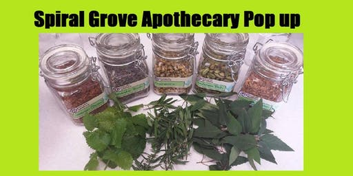 Spiral Grove Apothecary pop up