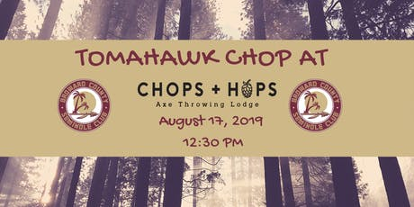 Broward Noles Takeover at CHOPS + HOPS Axe Throwing Lounge tickets