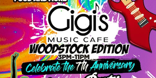 Gigi's Music Cafe 7 Year Anniversary Day Party