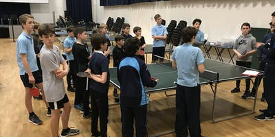 Richmond Park Table Tennis Club - Autumn Term 2019 PRIMARY SESSION