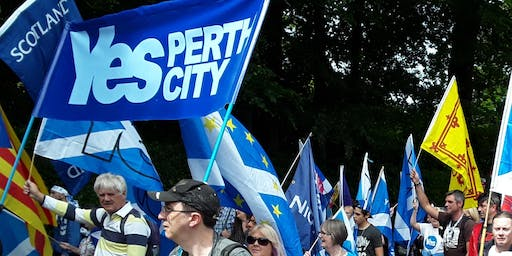 Perth Bus to AUOB March Aberdeen 17th August 2019