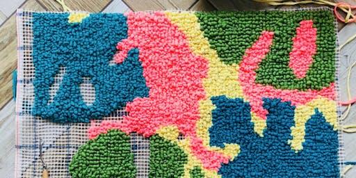 Rug Hooking With T-Shirt Yarn Workshop