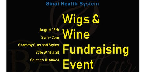 Wigs & Wine Fundraising Event tickets