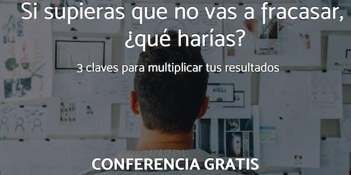 ¿Cómo afrontar tus miedos? Conferencia Gratuita Madrid