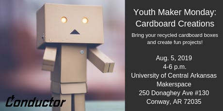 Youth Maker Monday: Cardboard Creations tickets