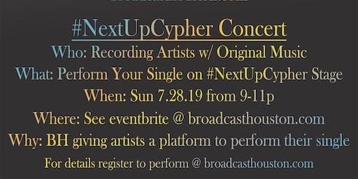 #NextUpCypher Concert (8 Mins) (Performance + Video)