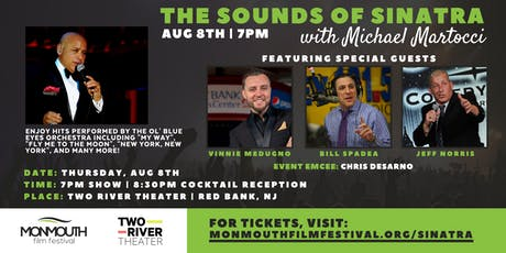 The Sounds of Sinatra with Michael Martocci | Monmouth Film Festival tickets