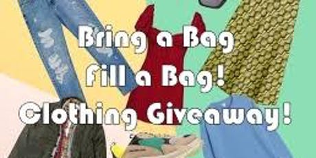 Bring a Bag Fill a Bag! Clothing Giveaway and Open House tickets