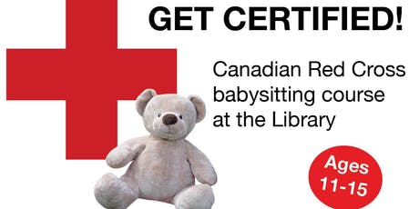 Red Cross Babysitting Course - (Central Library) tickets