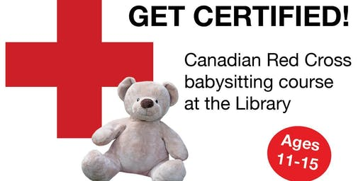 Red Cross Babysitting Course - (Central Library)