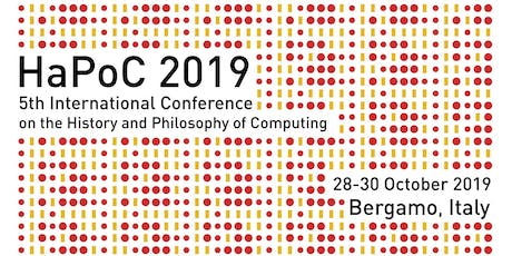 HaPoC 2019 - History and Philosophy of Computing tickets