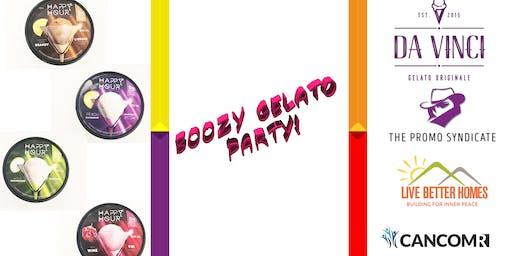 Boozy Gelato Party!