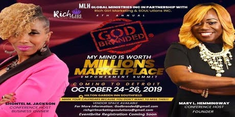 GodBranded: My Mind Is Worth Millions Empowerment Summit tickets