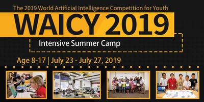 WAICY 2019 Artificial Intelligence Workshop